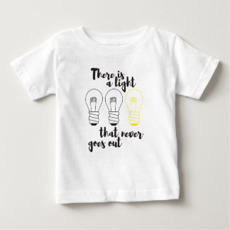 There is a Light that never goes out, jersey tee