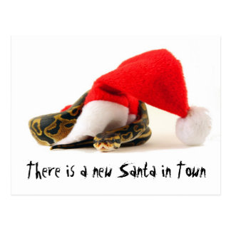 There is a new Santa in Town Post Cards