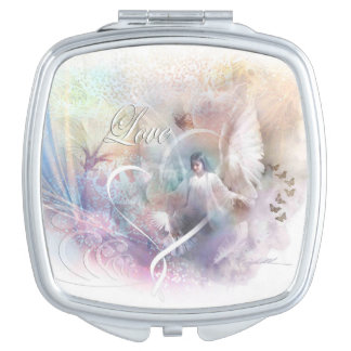 There is Love, Angel compact mirror