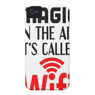 There is Magic In the air it's called wifi iPhone 4 Covers