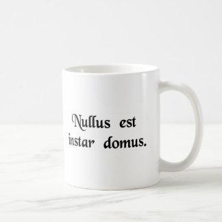 There is no place like home. coffee mug