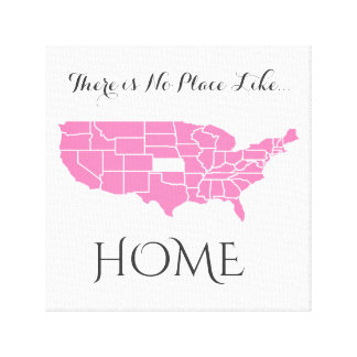 There is No Place Like Home _ Kansas Canvas Print