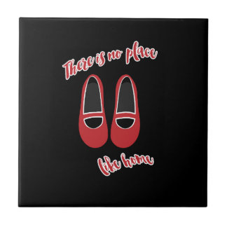 There is no place like home small square tile