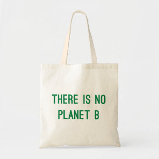 There is No Planet B Eco Friendly Tote Bag in Gree