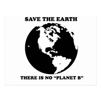There is no planet B Postcards