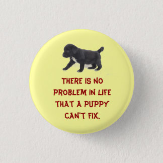 There is No Problem In Life... 3 Cm Round Badge