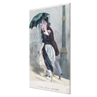 There is Nothing as Expensive as Le Bon Marche' Canvas Print