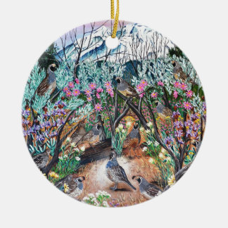 There is One in Every Crowd Ceramic Ornament