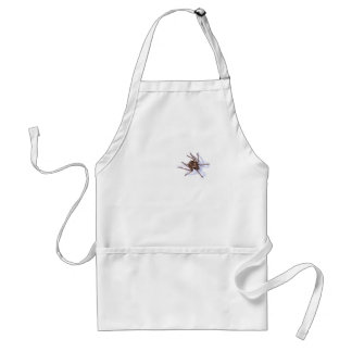 There s a spider on my chef aprons