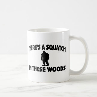 There's A Squatch In These Woods Mugs