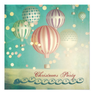 There s Magic in the Air - Christmas Party Invite