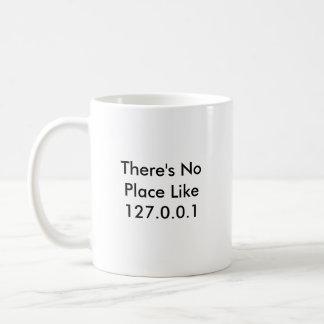 There s No Place Like 127 0 0 1 Coffee Mugs