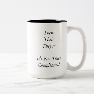 There, Their, They're Mug