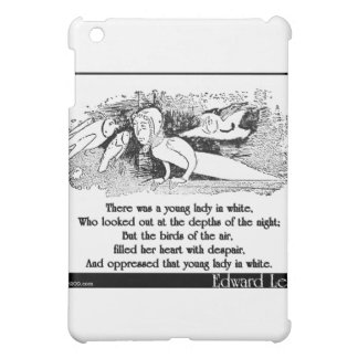 There was a young lady in white iPad mini covers