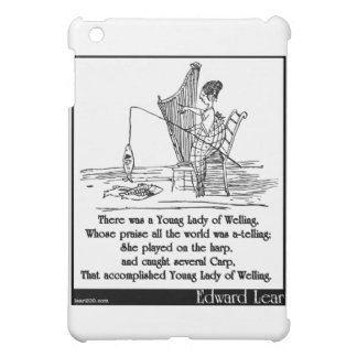 There was a Young Lady of Welling iPad Mini Cover