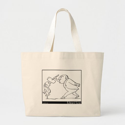 There was an Old Person of Buda Tote Bags