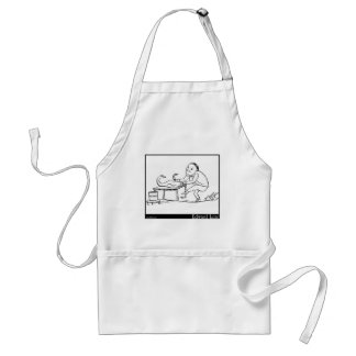 There was an old person of Florence Standard Apron
