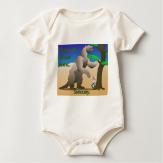 There Were 30 Foot Sloths... Seriously. Baby Bodysuit