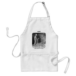 thered-better-be-a-light-at-the-end-of standard apron