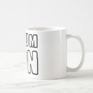 therefore on basic white mug