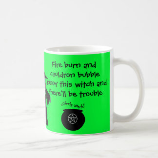 There'll be Trouble! Cheeky Witch's Mug