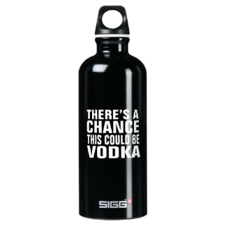 There's a chance this could be vodka - pink SIGG traveller 0.6L water bottle