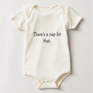 There's a nap for that baby bodysuit