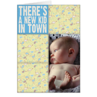 There's a New Kid in Town Note Card