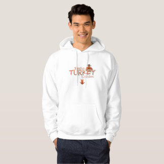 Theres a Turkey inthis Oven Thanksgiving Pregnancy Hoodie