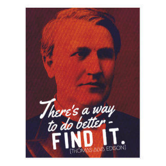 There's a way to do better - FIND IT postcard