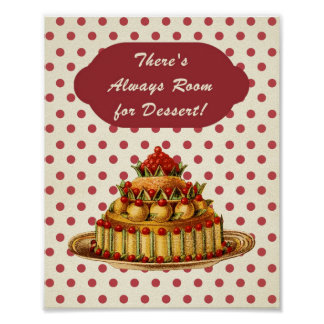 There's Always Time for Dessert! Poster