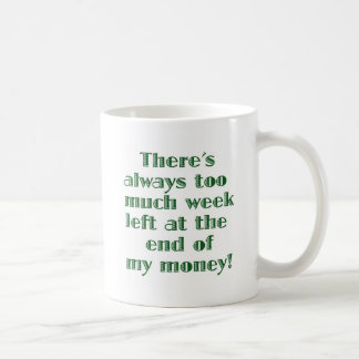 There's Always Too Much Week Left... Coffee Mug