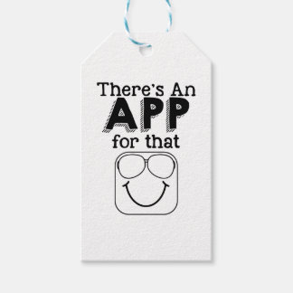Theres an app for that gift tags