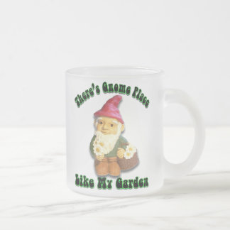 There's Gnome Place Like My Garden Frosted Mug