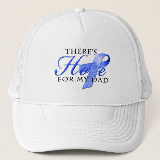 There's Hope for Colon Cancer Dad Trucker Hat