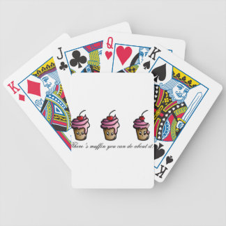 There's muffin you can do about it bicycle playing cards