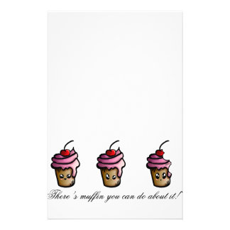 There's muffin you can do about it stationery