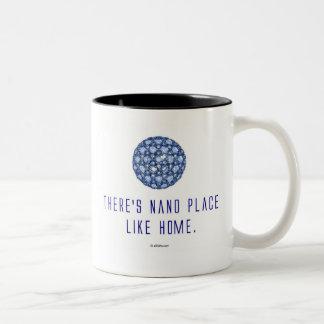 There's nano place like home (1) Two-Tone mug