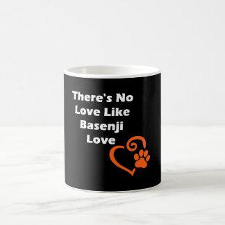 There's No Love Like Basenji Love Coffee Mug