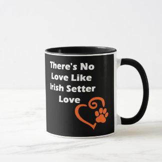 There's No Love Like Irish Setter Love Mug