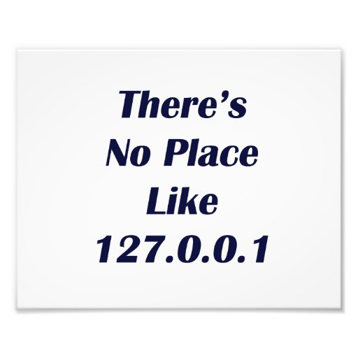 Theres No Place like 127001 Photograph