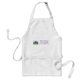 There's No Place Like Home Adult Apron