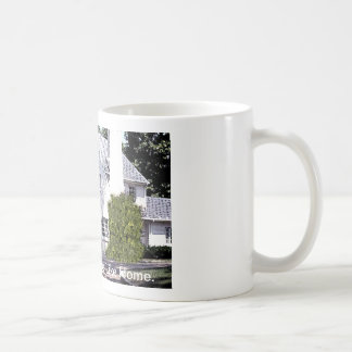 There's No Place LIke Home. Basic White Mug
