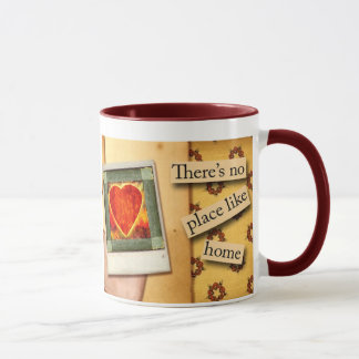 There's No Place Like Home Coffee Mug Design
