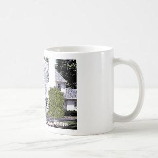 There's No Place LIke Home. Basic White Mug