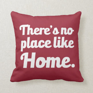 There's no place like home pillow throw cushions
