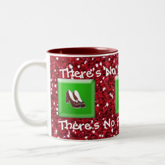 There's No Place Like Home Ruby Slipper Coffee Mug