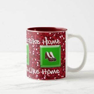 There's No Place Like Home Ruby Slipper Coffee Mug