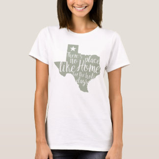There's No Place Like Home Texas Christmas T-Shirt