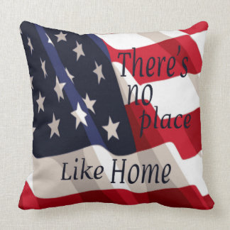 There's No Place Like Home Toss Pillow